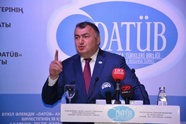 DATÜB 3. Kurultayı Kazakistan-Alma Ata'da gerçekleşti.